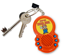 Super Mario Bros Sound FX Keyring