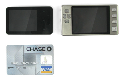 Digital Video Player the Size of a Credit Card