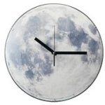 Moon Clock illuminates your room