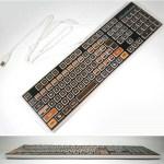 This Atari 400 keyboard will bring back early eighties computing