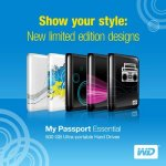 500GB My Passport Essential now come in limited edition designs