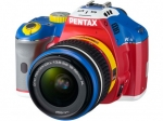 Pentax Announced Pentax K-x Robotic Colors Limited Edition Digital Camera