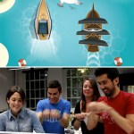 Pirata Boat Race games uses both PC and iPhone/iPod Touch