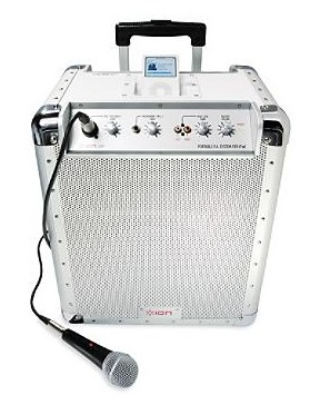 Portable PA Audio System with iPod Dock