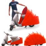 Protect 486 puts a protective shell around a scooter