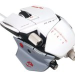 Mad Catz starts to ship Cyborg R.A.T. Albino Gaming Mouse