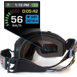 Transcend Goggles give you your skiing stats