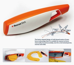 Rescue Sticks could save lives in a compact fashion.