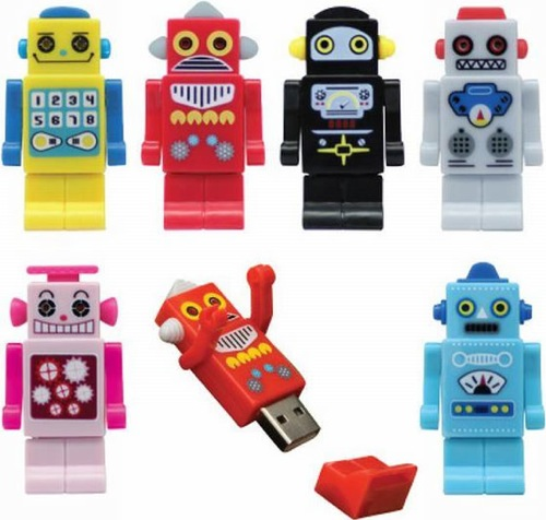 robot-usb-drives