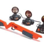 Rotating Targets Infrared Shooting Gallery