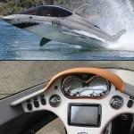 Seabreacher X Submarine looks like a Shark
