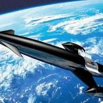 Skylon spacecraft uses internal engines and rocket fuel