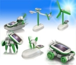 6-in-1 Solar Robot Kit