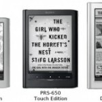Sony has new line of Digital Readers