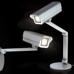 The Spoticam lamp disguised as security camera