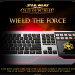 Razer's new gaming keyboard is made for new Star Wars: The Old Republic game