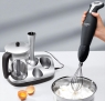 The Cordless Hand Blender, Whisk and Universal Chopper in one