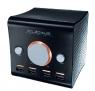 Cubite speaker has USB hubs