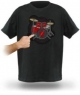 Electric Drum Kit Shirt allows you to beat your chest to the music