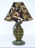 Desktop Grenade Lamp
