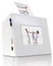 Keian Digital Photo Frame comes with built-in printer and audio player