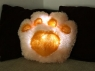 LED Paw-Shaped Pillow