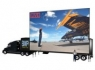 Mobile LED screen displays for ads