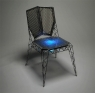 The SIX lighted chair looks super comfortable