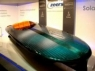 Solar powered speedboat