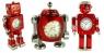 TOKYObay's robot alarm clocks