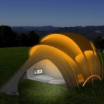Glastonbury Solar Tent from Orange
