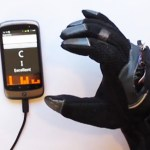 Texting Glove for the hearing impaired