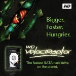 Western Digital VelociRaptor hard drive