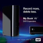 Western Digital 1TB My Book AV DVR expander ready for World Cup season