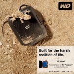 Western Digital Nomad rugged case for your hard drive