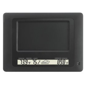 Digital Photo Frame with Weather Station