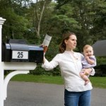 Guiding Light Mailbox is solar powered