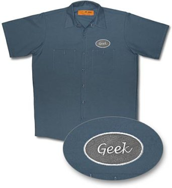 Geek Work Shirt