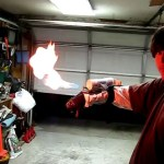 Teenager builds a flamethrower, are parents thrilled?