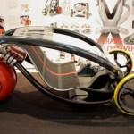 X-Frame folding vehicle