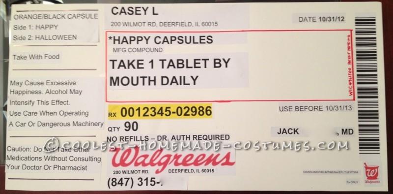 Funny Prescription Bottle Label Template - Image Collections Bottle