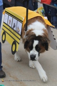 Therapy Dog School Bus Costume