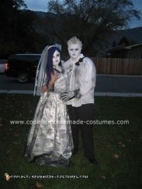 Coolest Corpse Bride and Groom Homemade Costumes