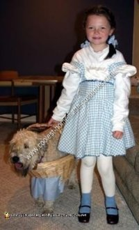 Coolest Homemade Toto Dog Costume