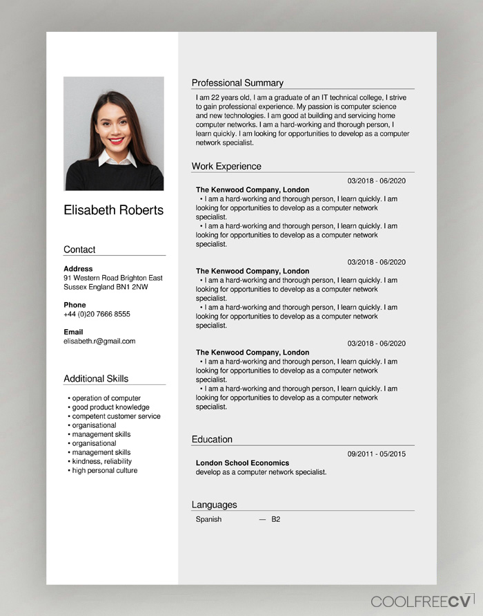 how to build cv pdf