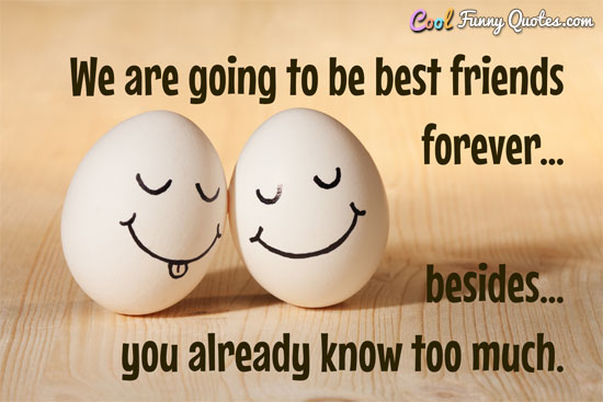 Cute Funny Wallpapers For Lazy Peopke We Are Going To Be Best Friends Forever Besides You
