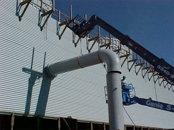 Cooling Tower Distribution Systems Risers