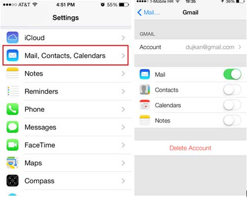 outlook calendar not syncing with iphone