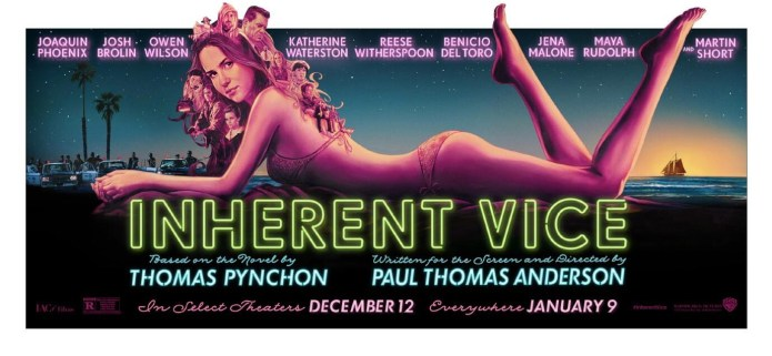 Inherent Vice Poster Cool Neon
