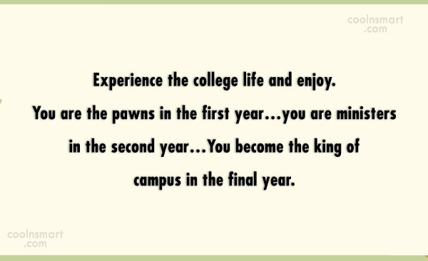 College Quotes And Sayings Images Pictures Coolnsmart